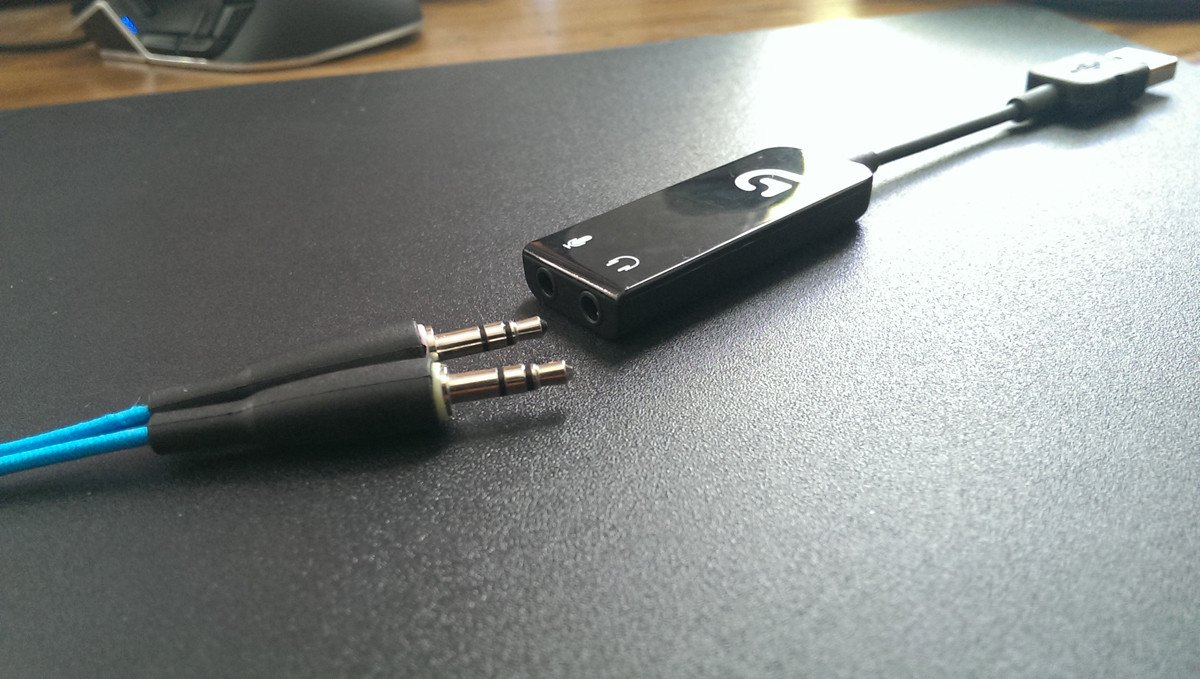 3.5mm to USB dongle